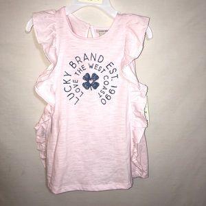 Lucky Brand Girls 2 piece set